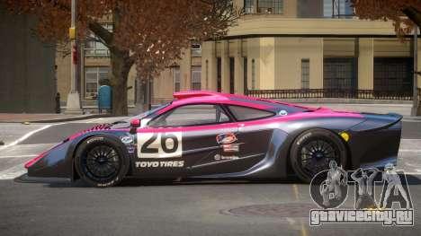 McLaren F1 G-Style PJ6 для GTA 4
