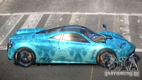 Pagani Huayra R-Tuned PJ1 для GTA 4