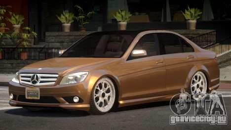 Mercedes-Benz C350 E-Style для GTA 4