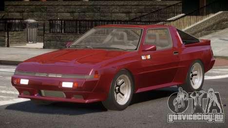 Mitsubishi Starion SR для GTA 4