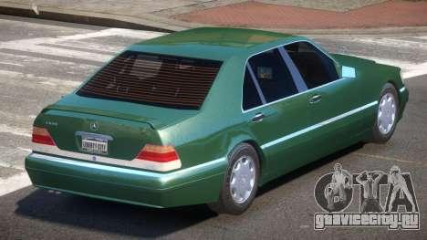 Mercedes Benz W140 S600 V1.0 для GTA 4