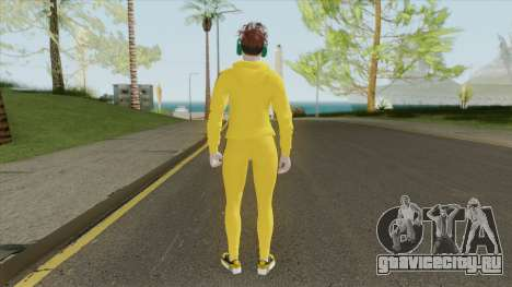Random Female Skin V2 (Sport Gym) для GTA San Andreas