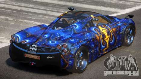 Pagani Huayra GBR PJ3 для GTA 4
