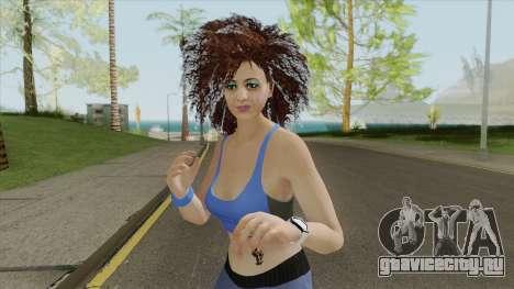 Random Female Skin V1 (Sport Gym) для GTA San Andreas