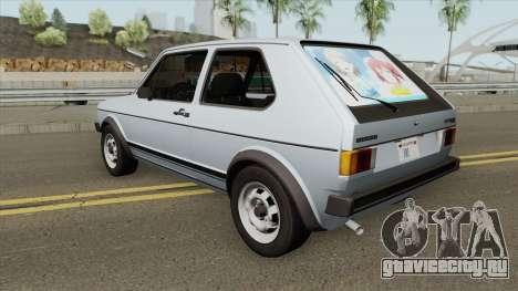 Volkswagen Golf GTI MKI (RHA) для GTA San Andreas