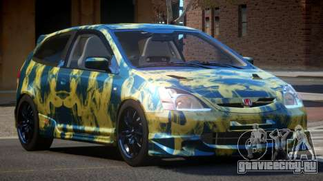 Honda Civic Type R-Tuned PJ4 для GTA 4