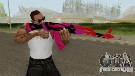 AK-47 (Nebula) для GTA San Andreas