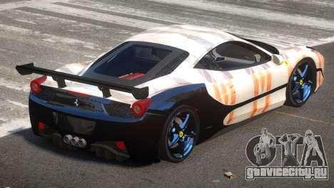 Ferrari 458 SRI-37 PJ1 для GTA 4