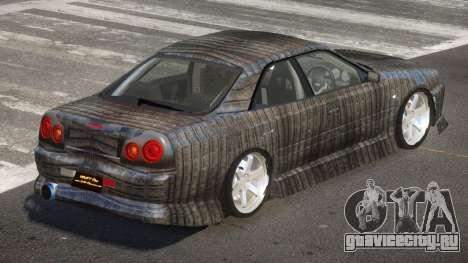 Nissan Skyline R34 SRS PJ5 для GTA 4
