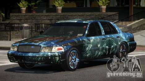 Ford Crown Victoria R-Tuned PJ3 для GTA 4