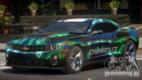 Chevrolet Camaro STI PJ5 для GTA 4