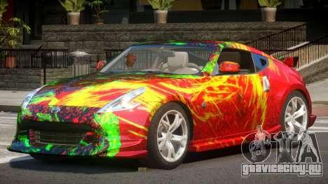 Nissan 370Z SR PJ2 для GTA 4