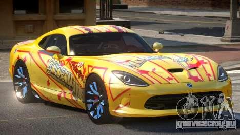 Dodge Viper SRT D-Tuned PJ5 для GTA 4