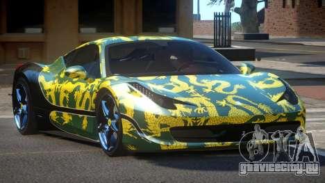 Ferrari 458 SRI-37 PJ2 для GTA 4