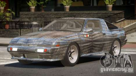 Mitsubishi Starion SR PJ6 для GTA 4