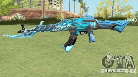 AK-47 (Unicorn Ice) для GTA San Andreas