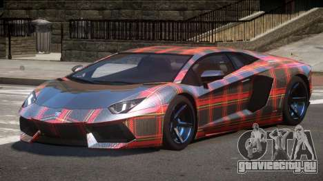 Lamborghini Aventador S-Style PJ6 для GTA 4