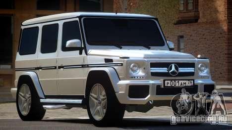 Mercedes Benz G65 V2.1 для GTA 4