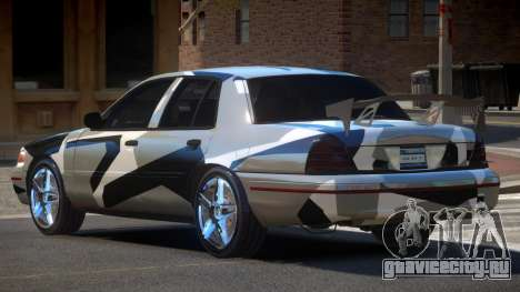 Ford Crown Victoria R-Tuned PJ6 для GTA 4