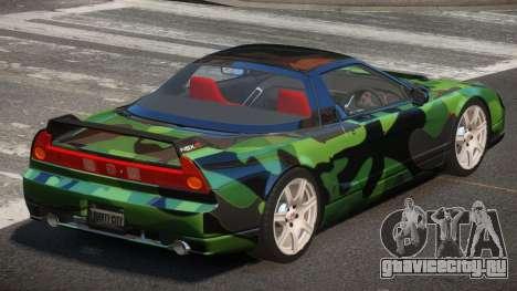 Honda NSX-R LT PJ3 для GTA 4