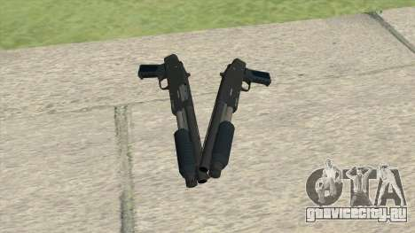 Sawed-Off Shotgun GTA V (LSPD) для GTA San Andreas