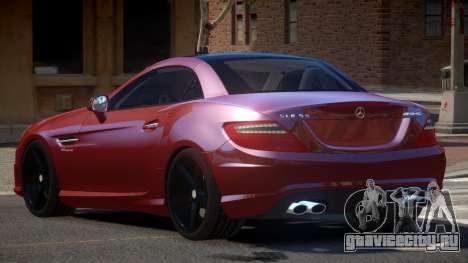 Mercedes SLK55 RG38 для GTA 4