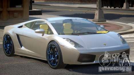 Lamborghini Gallardo V1.2 для GTA 4