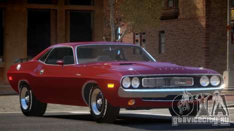 1972 Dodge Challenger RT для GTA 4