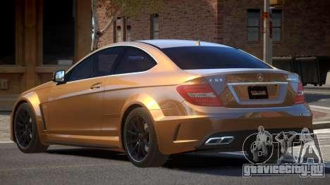 Mercedes Benz C63 V1.3 для GTA 4