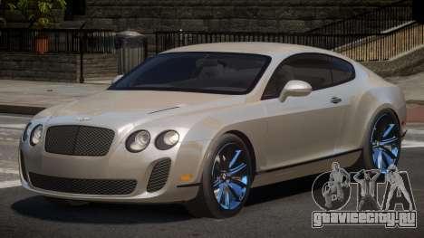 Bentley Continental SR для GTA 4