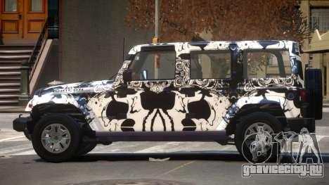 Jeep Wrangler LT PJ3 для GTA 4