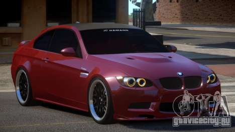 BMW M3 E92 G-Style для GTA 4