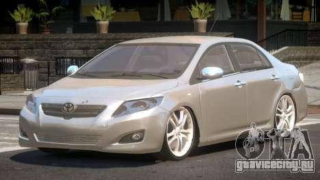 Toyota Corolla RS V1.0 для GTA 4
