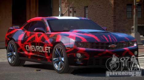 Chevrolet Camaro STI PJ1 для GTA 4