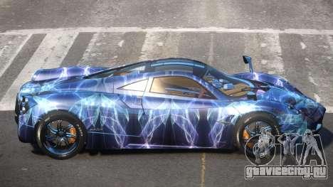 Pagani Huayra GBR PJ2 для GTA 4