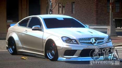Mercedes Benz C63 AMG V2.1 для GTA 4