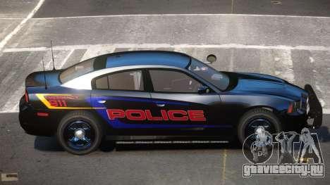 Dodge Charger JBR Police для GTA 4