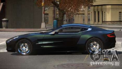 Aston Martin One-77 GT для GTA 4