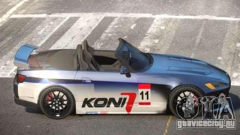 Honda S2000 D-Style PJ6 для GTA 4