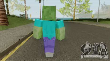 Zombie (Minecraft) для GTA San Andreas