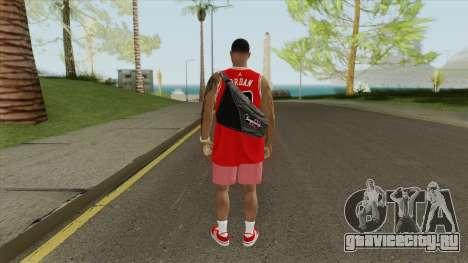 Random Male V2 (Chicago Bulls) для GTA San Andreas