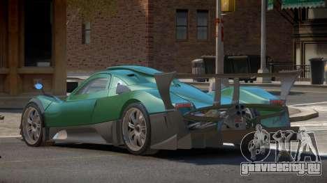 Pagani Zonda R-Tuned для GTA 4
