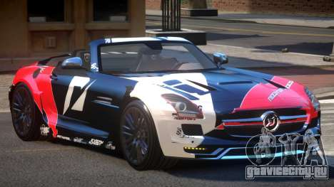 Mercedes-Benz SLS H-Style PJ6 для GTA 4