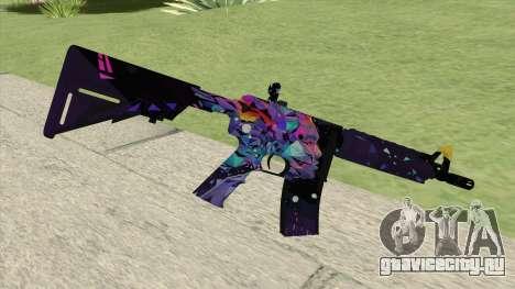 M4A4 (Glass Queen) для GTA San Andreas