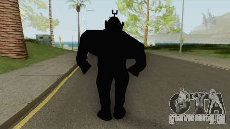 Shadow Tubbie (SlendyTubbies 3) для GTA San Andreas