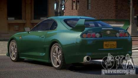 Toyota Supra R-Tuning для GTA 4