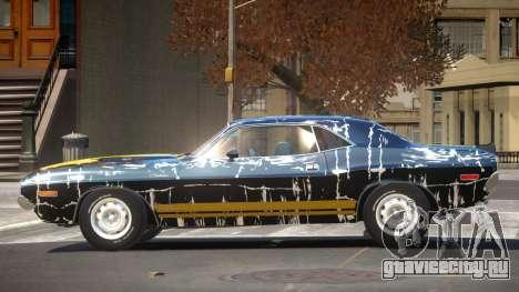 Dodge Challenger RT H-Style PJ6 для GTA 4