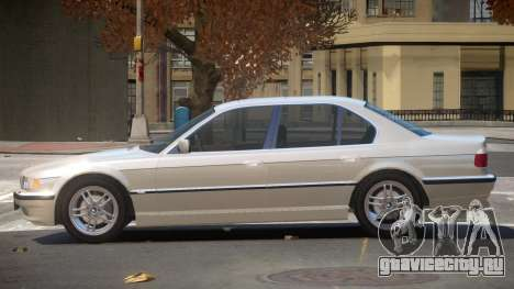 BMW 740i V1.2 для GTA 4