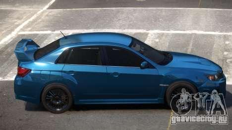 Subaru Impreza S-Tuned для GTA 4