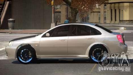 Chevrolet Lacetti R-Tuning для GTA 4